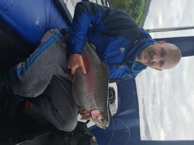 17lbs Rainbow Trout Returned