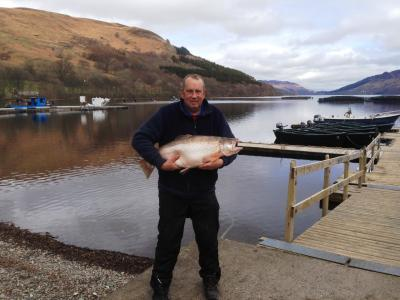 23½lbs Brown Trout Nelson Mitchell on 3rd April 2015