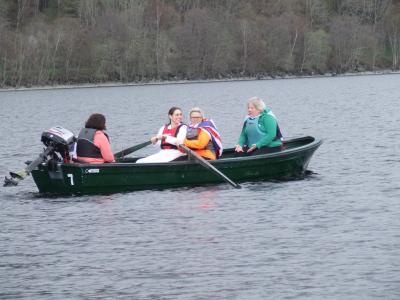 The Great Loch Earn Boat Race 2018