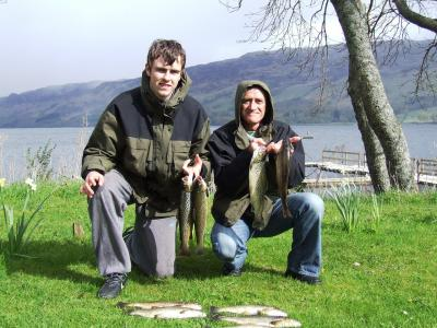 Great Days Fishing for Father & Son