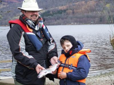 First Trout for Duncan