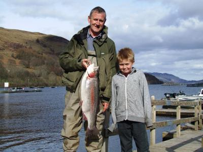 10½lbs Rainbow for 10yr old Lewis Masson