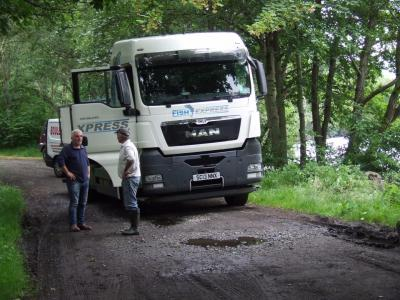 Another lorry load of Brownies for Loch Earn
