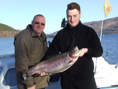 Big Rainbow for Fife Fishers