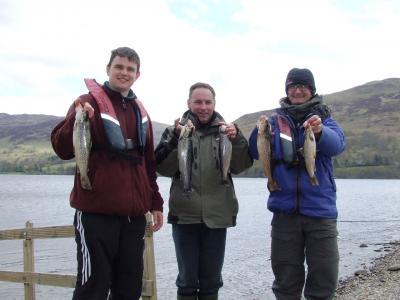 Good Days Fishing Despite the Cold