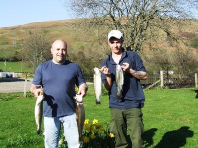 Ayrshire Lads Bring Home the Bacon