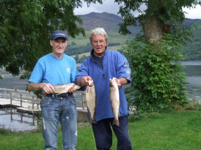 Osprey' picks up fish
