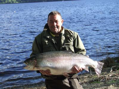 The heaviest trout ever caught by rod and line an incredible 34lbs