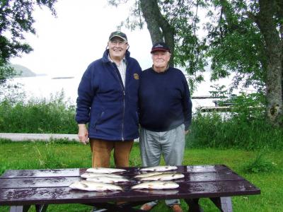 Super days fishing for Ian & Arthur