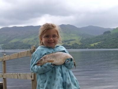 Elle-May Elated at First Fish