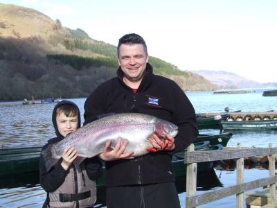 Notable Fish Nailed  by Neil
