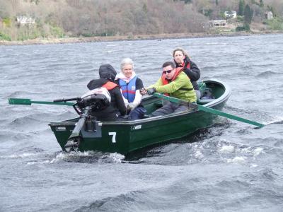 The Great Loch Earn Boat Race 2016