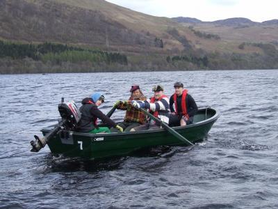 The Great Loch Earn Boat Race 2017