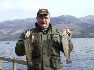 Brace of Browns for James