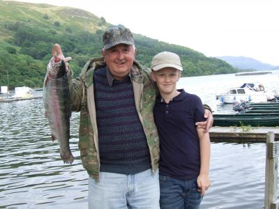 Tremendous Trout for Torrance Angler